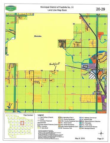 32096 393 Avenue E, Rural Foothills M.D., AB T1S 0L1 (#C4195141) :: Redline Real Estate Group Inc