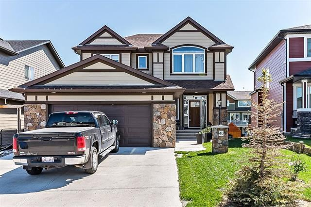 40 Cimarron Springs Way, Okotoks, AB T1S 0J4 (#C4195165) :: Redline Real Estate Group Inc