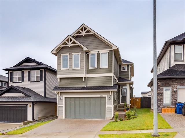 157 Heritage Boulevard, Cochrane, AB T4C 0S6 (#C4195225) :: Canmore & Banff