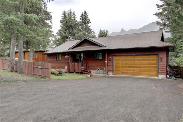 209 Bow River Drive, Harvie Heights, AB T1W 2W2 (#C4195405) :: Canmore & Banff