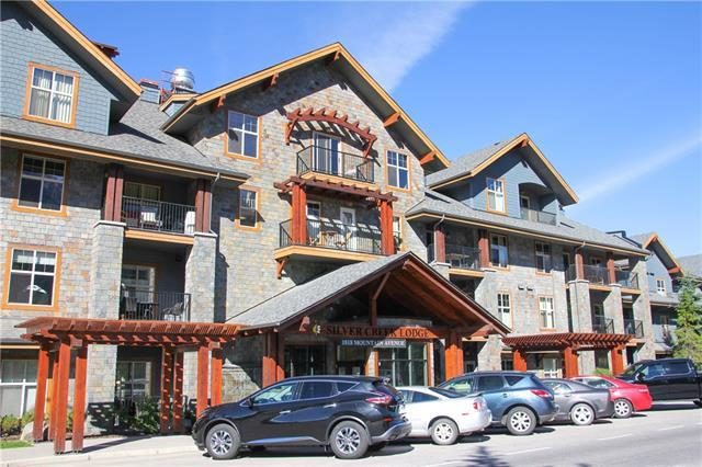 1818 Mountain Avenue #202, Canmore, AB T1W 3M3 (#C4195486) :: Canmore & Banff