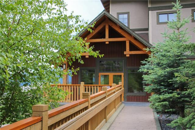 801 Benchlands Trail #102, Canmore, AB T1W 0B6 (#C4195487) :: Canmore & Banff