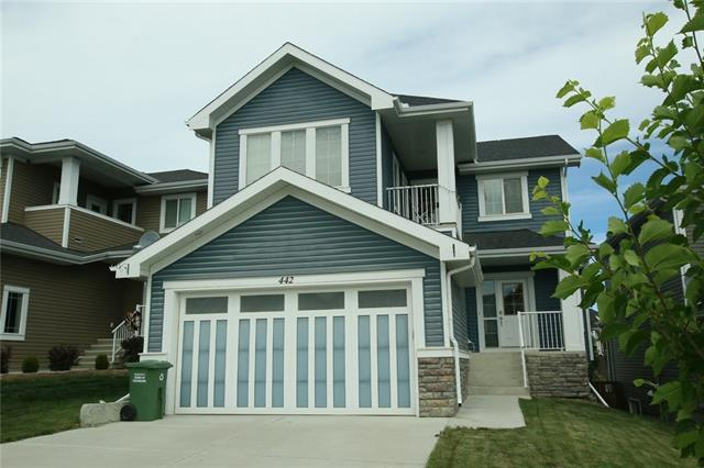 442 River Heights Drive, Cochrane, AB T4C 0H8 (#C4195533) :: Tonkinson Real Estate Team