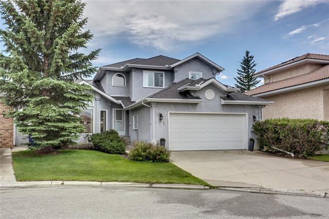 21 Santana Manor NW, Calgary, AB T3K 3M4 (#C4195538) :: Carolina Paredes - RealHomesCalgary.com