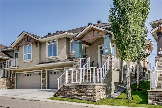 10 Discovery Woods Villa(S) SW, Calgary, AB T3H 5A6 (#C4195557) :: The Cliff Stevenson Group