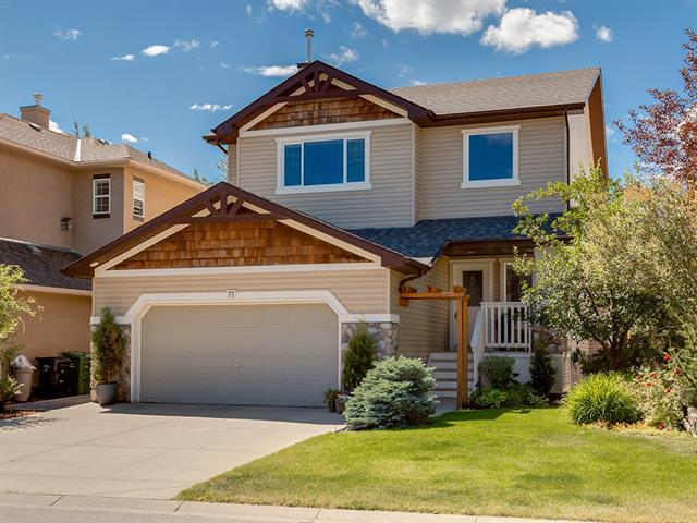 77 Cougarstone Terrace SW, Calgary, AB T3H 5A1 (#C4195578) :: The Cliff Stevenson Group