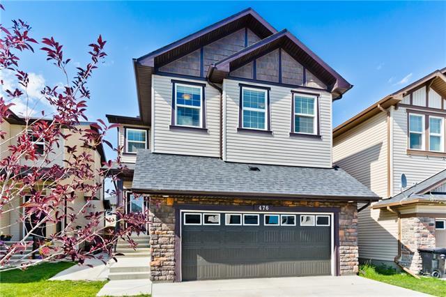 476 Skyview Shores Manor NE, Calgary, AB T3N 0H3 (#C4195648) :: Carolina Paredes - RealHomesCalgary.com