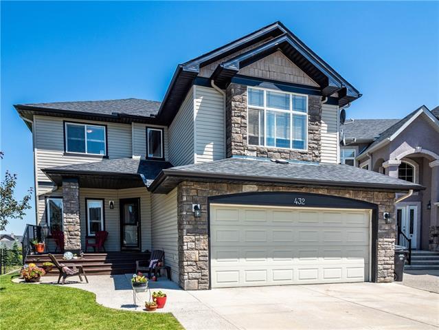 432 Kincora Bay NW, Calgary, AB T3R 1N1 (#C4195838) :: Calgary Homefinders