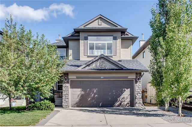 95 Cranfield Circle SE, Calgary, AB T3M 1H1 (#C4195839) :: Tonkinson Real Estate Team