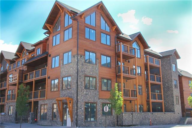 707 Spring Creek Drive #407, Canmore, AB T1W 0K7 (#C4195883) :: Canmore & Banff