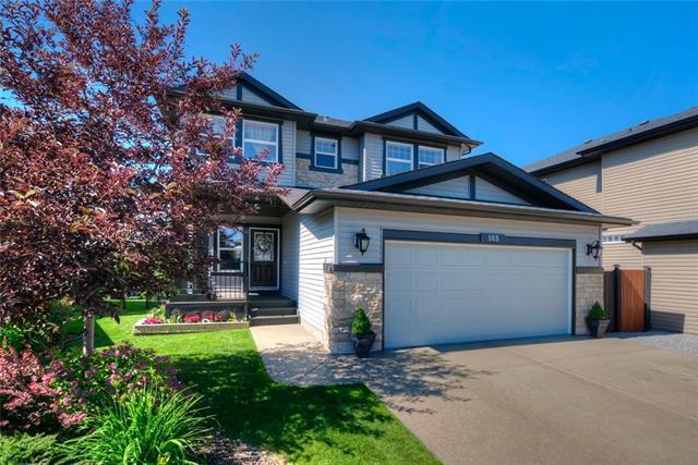 103 Drake Landing Cove, Okotoks, AB T1S 0E6 (#C4195952) :: Your Calgary Real Estate