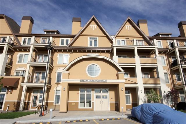 10 Mahogany Mews SE #201, Calgary, AB T3M 2R1 (#C4195974) :: Tonkinson Real Estate Team