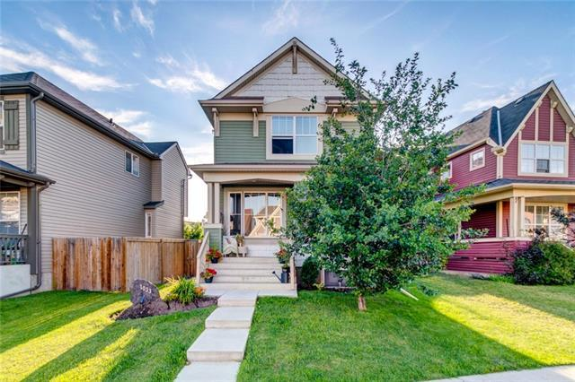 1033 New Brighton Gardens SE, Calgary, AB T2Z 4X2 (#C4196061) :: Calgary Homefinders