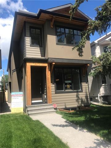 2038 1 Avenue NW, Calgary, AB T2N 0B3 (#C4196164) :: Canmore & Banff