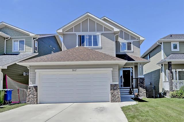 162 Springs Crescent SE, Airdrie, AB T4A 1G8 (#C4196210) :: Tonkinson Real Estate Team