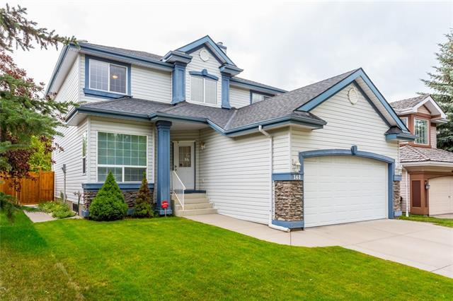 148 Chaparral Drive SE, Calgary, AB T3X 2K7 (#C4196217) :: Your Calgary Real Estate