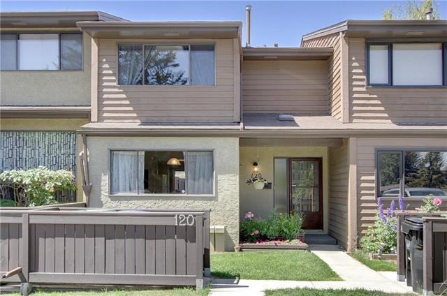 2300 Oakmoor Drive SW #120, Calgary, AB T2V 4N7 (#C4196233) :: Redline Real Estate Group Inc