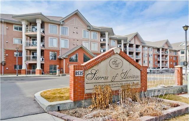 8535 Bonaventure Drive SE #309, Calgary, AB T2H 3A1 (#C4196245) :: Calgary Homefinders