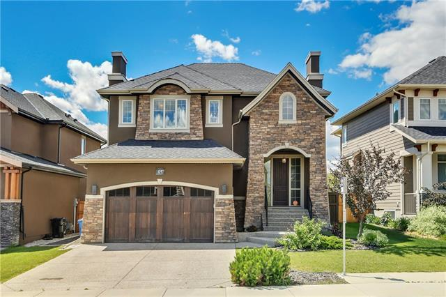 85 Aspen Summit Drive SW, Calgary, AB T3H 0G1 (#C4196283) :: Redline Real Estate Group Inc