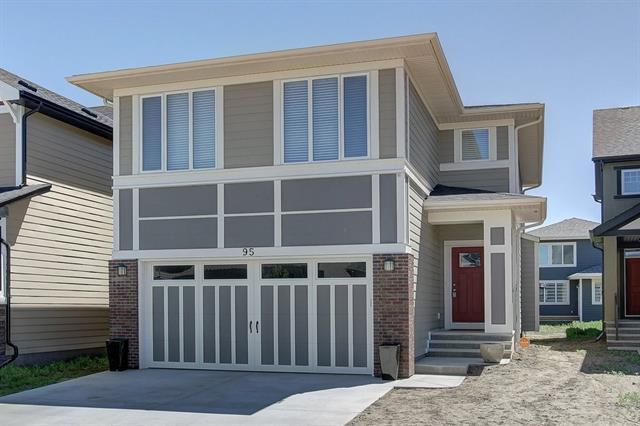 95 Masters Place SE, Calgary, AB T3M 2L4 (#C4196312) :: Tonkinson Real Estate Team