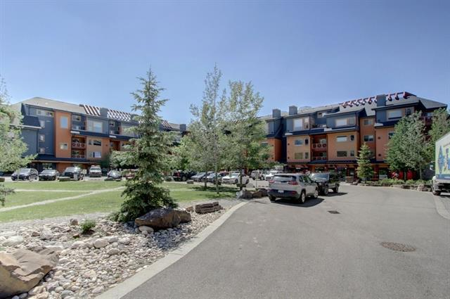 1140 Railway Avenue #301, Canmore, AB T1W 1P4 (#C4196423) :: Canmore & Banff