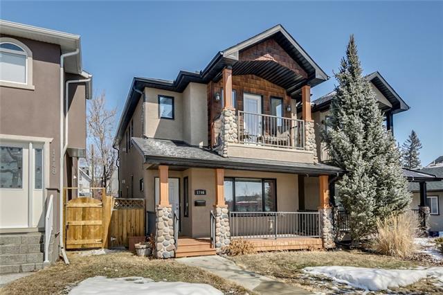 1746 6 Avenue NW, Calgary, AB T2N 0W2 (#C4196512) :: Tonkinson Real Estate Team
