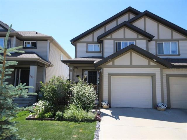 301 Sunset Common, Cochrane, AB T4C 0L8 (#C4196532) :: Calgary Homefinders
