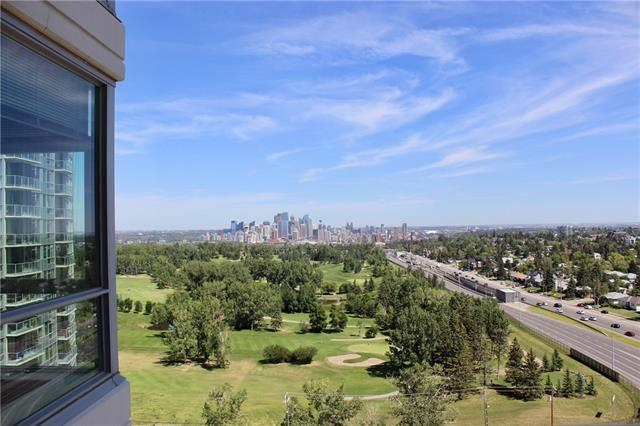 77 Spruce Place SW #1502, Calgary, AB T3C 3X6 (#C4196550) :: Redline Real Estate Group Inc