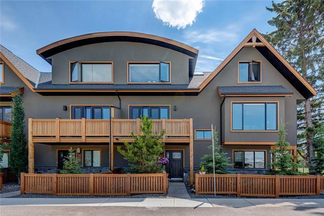 511 6th Avenue #7, Canmore, AB T1W 0K9 (#C4196574) :: Canmore & Banff