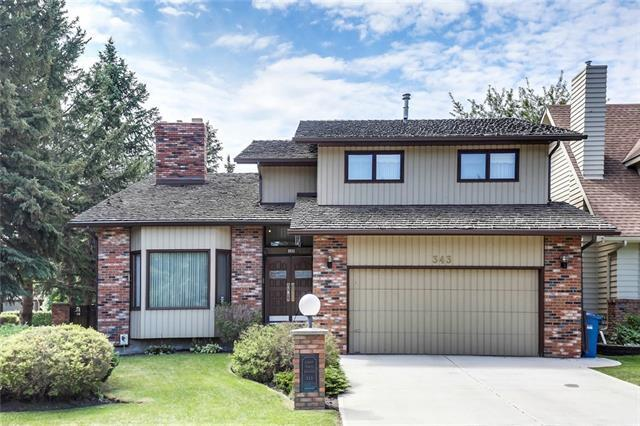 343 Canter Place SW, Calgary, AB T2W 3Z3 (#C4196598) :: Redline Real Estate Group Inc