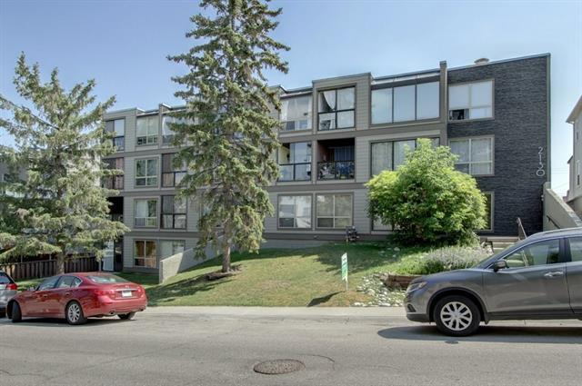 2130 17 Street SW #304, Calgary, AB T2T 4M4 (#C4196644) :: Redline Real Estate Group Inc