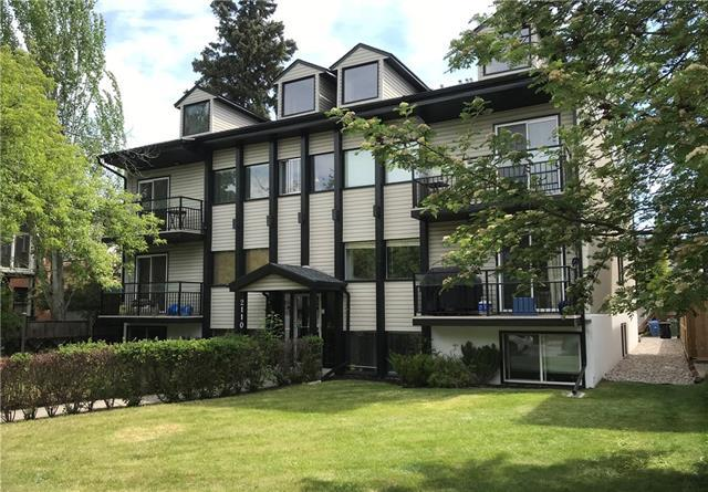 2110 15 Street SW #3, Calgary, AB T2T 3Y8 (#C4196657) :: Redline Real Estate Group Inc