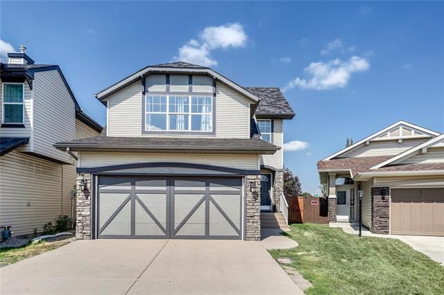 82 New Brighton Circle SE, Calgary, AB T2Z 4B3 (#C4196694) :: Calgary Homefinders
