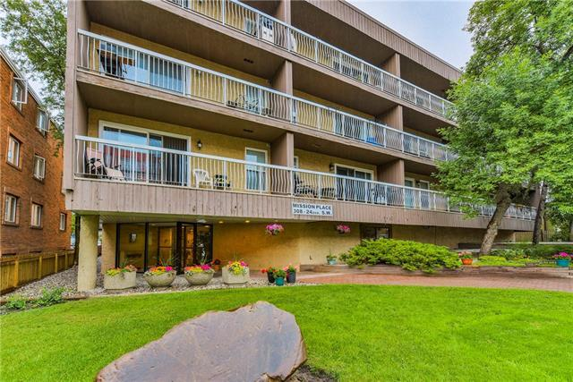 308 24 Avenue SW #301, Calgary, AB T2K 0K2 (#C4196767) :: Tonkinson Real Estate Team