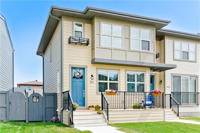651 Walden Drive SE, Calgary, AB T2X 0Z5 (#C4196778) :: Tonkinson Real Estate Team