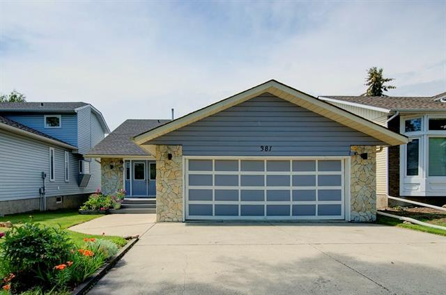 381 Deerview Drive SE, Calgary, AB T2J 6X2 (#C4196962) :: Canmore & Banff