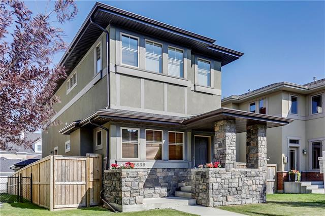 5538 Henwood Street SW, Calgary, AB T3E 6Z3 (#C4197044) :: Canmore & Banff