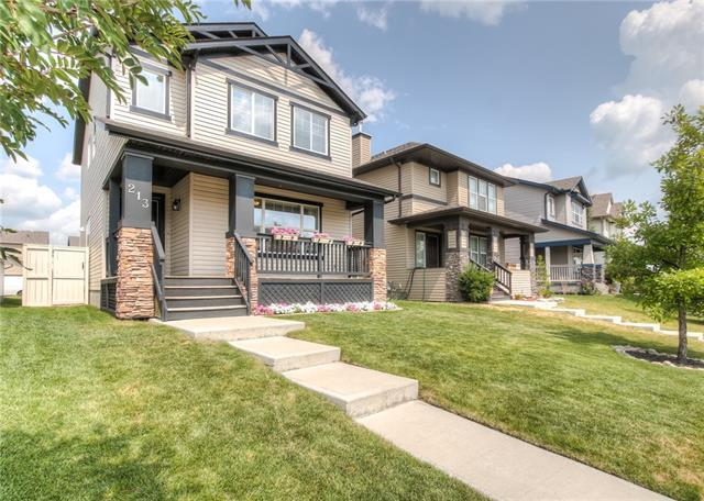 213 Morningside Gardens SW, Airdrie, AB T4B 0C9 (#C4197257) :: Canmore & Banff