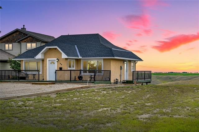 34 Lake Mcgregor Dr Drive, Rural Vulcan County, AB T0L 2B0 (#C4197309) :: Tonkinson Real Estate Team