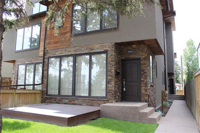 4207 Stanley Road SW #1, Calgary, AB  (#C4197414) :: Redline Real Estate Group Inc