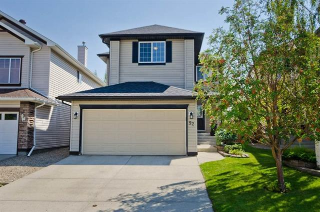 92 Cranfield Park SE, Calgary, AB T3M 1B4 (#C4197943) :: Canmore & Banff