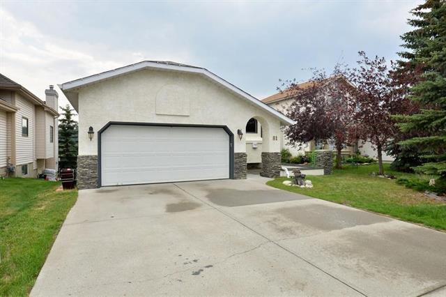 81 Riverview Drive, Cochrane, AB T4C 1K8 (#C4197977) :: Redline Real Estate Group Inc
