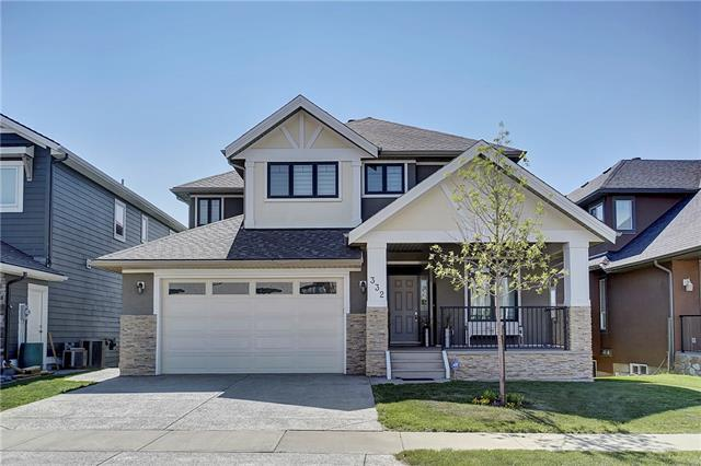 332 Kinniburgh Boulevard, Chestermere, AB T1X 1H9 (#C4197996) :: Canmore & Banff