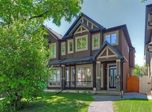 419 28 Avenue NW, Calgary, AB T2M 2K7 (#C4198354) :: Canmore & Banff