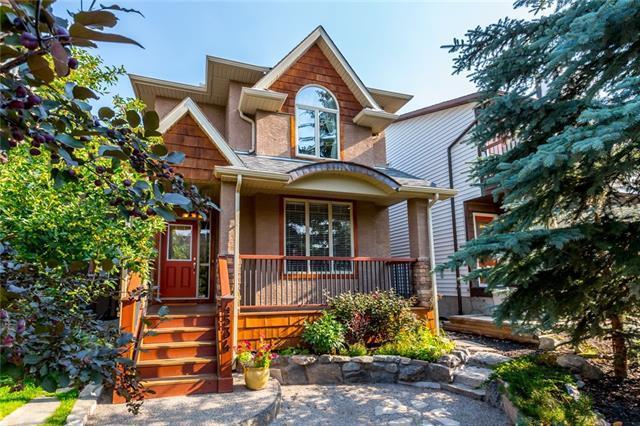 4534 Montgomery Avenue NW, Calgary, AB T3B 0K9 (#C4198509) :: Canmore & Banff