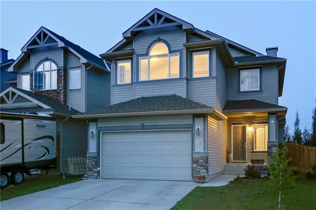 50 West Pointe Manor, Cochrane, AB T4C 0C1 (#C4198588) :: Canmore & Banff