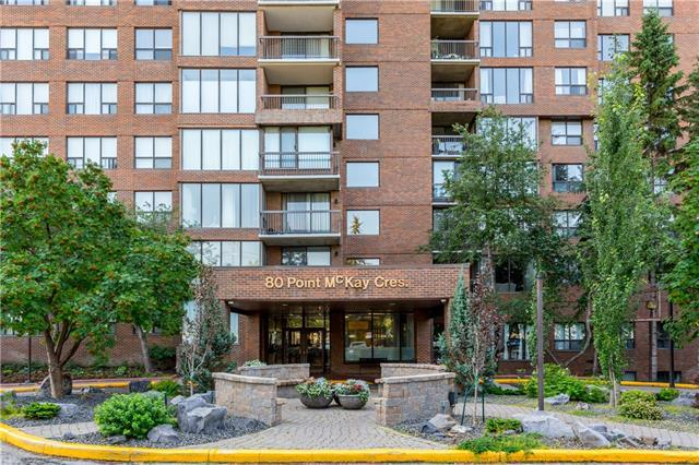 80 Point Mckay Crescent NW #404, Calgary, AB T3B 4W4 (#C4198772) :: Canmore & Banff