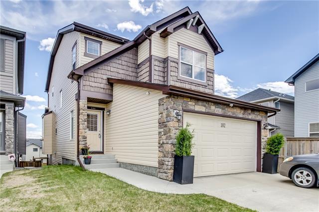 102 Kincora Glen Mews NW, Calgary, AB T3R 0B6 (#C4198824) :: Redline Real Estate Group Inc
