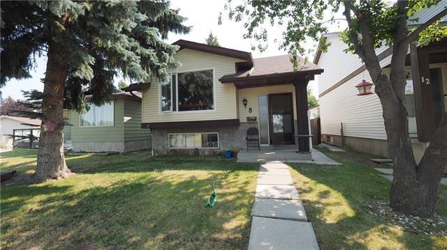 8 Abergale Way NE, Calgary, AB T2A 6H7 (#C4198960) :: Canmore & Banff