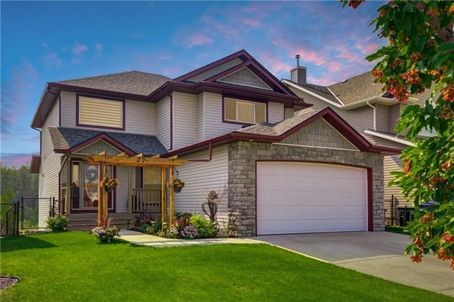 27 Sheep River Cove, Okotoks, AB T1S 2G6 (#C4199257) :: Your Calgary Real Estate